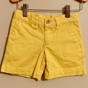 🥳3 For $20🥳POLO... Girl's 2T(EUC)Yellow Shorts!